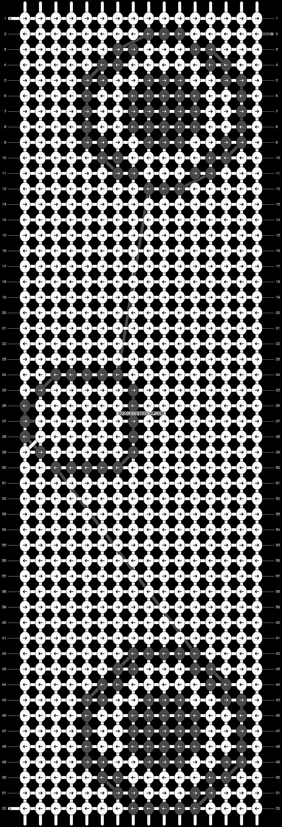 Alpha pattern #5224 pattern