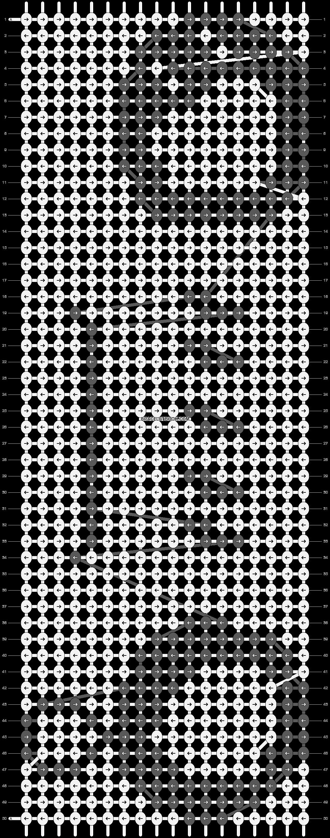 Alpha pattern #5226 pattern