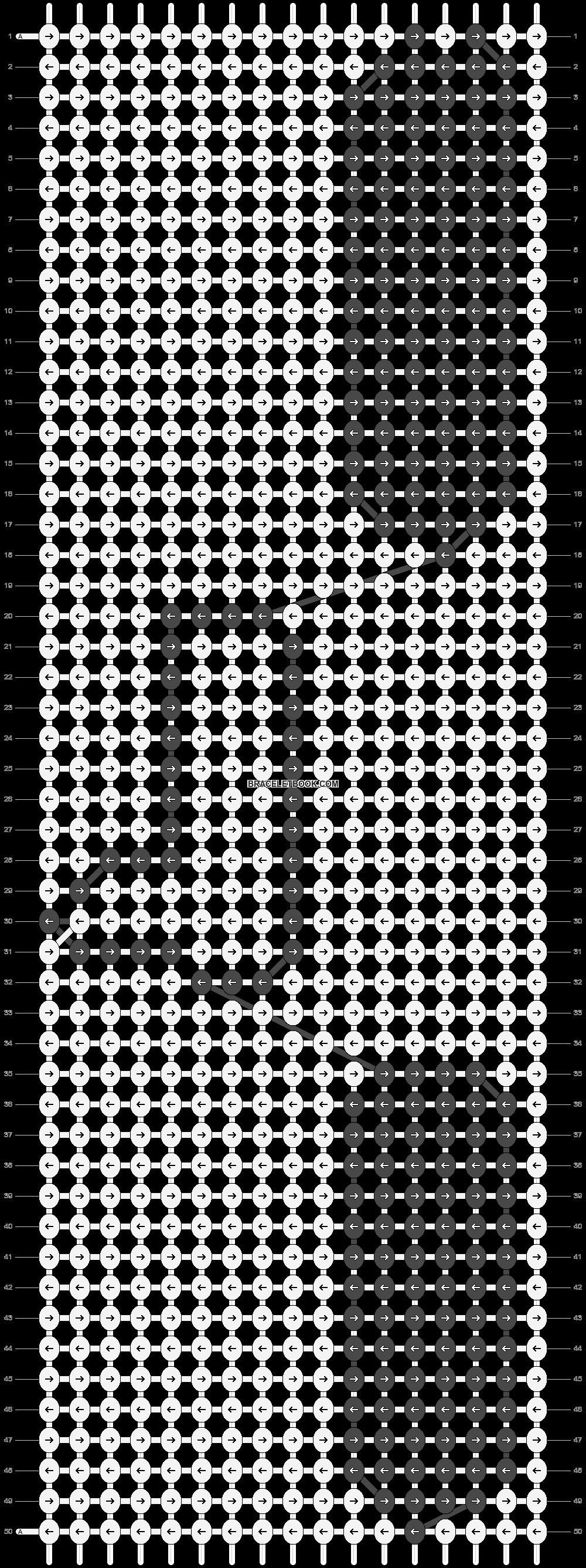 Alpha pattern #5227 pattern