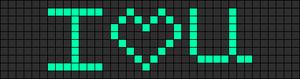 Alpha Friendship Bracelet Pattern #5238