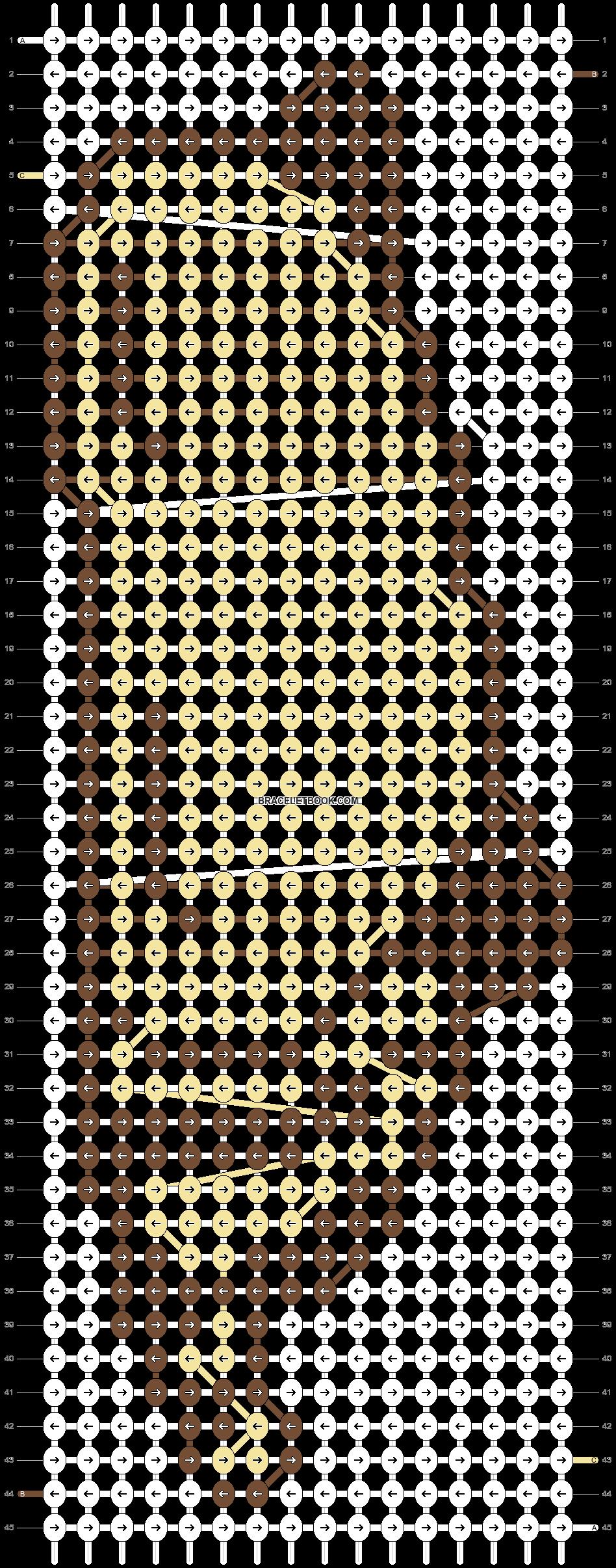 Alpha pattern #5239 pattern