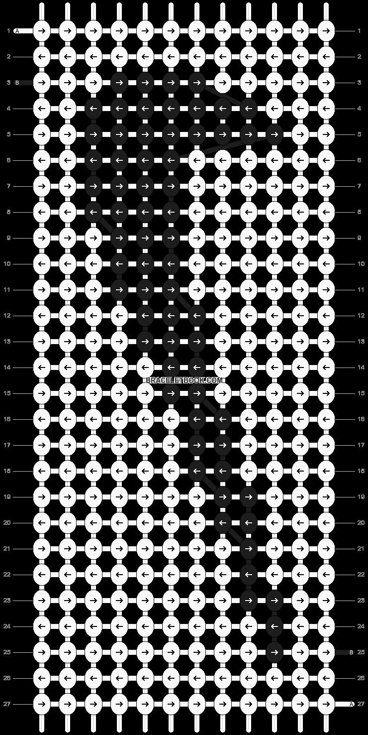 Alpha pattern #5248 pattern