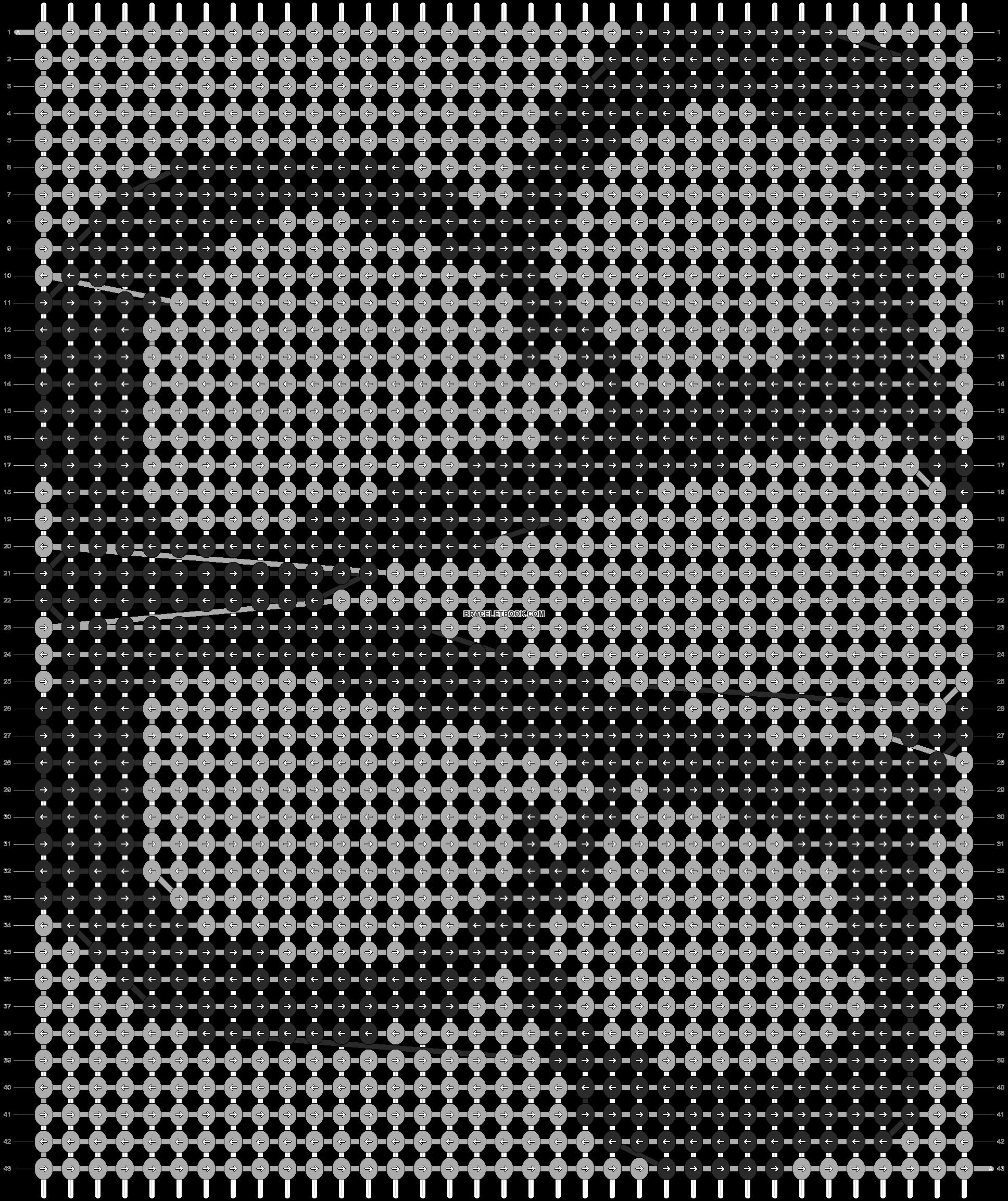 Alpha pattern #5250 pattern