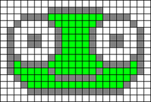 Alpha pattern #5255
