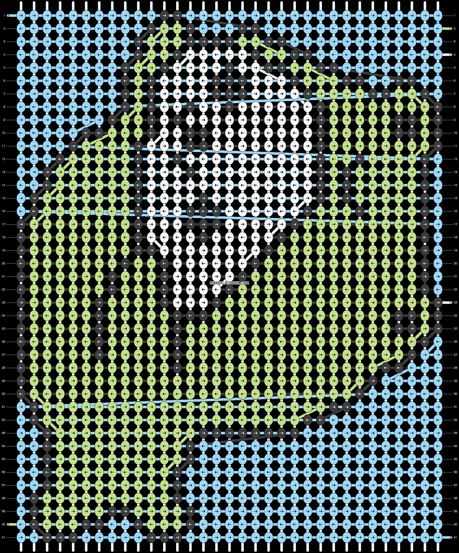 Alpha pattern #5261 pattern