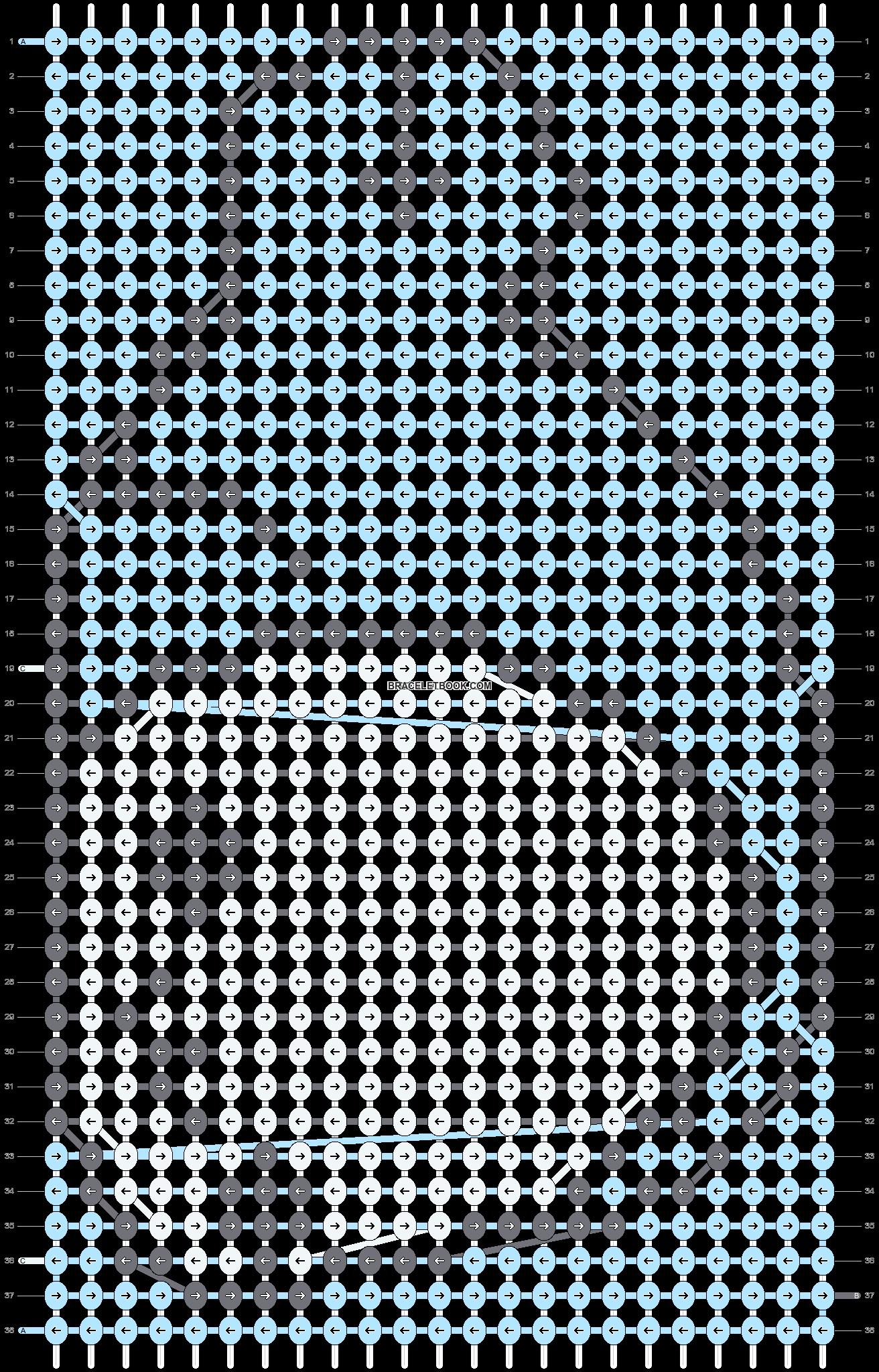 Alpha pattern #5264 pattern