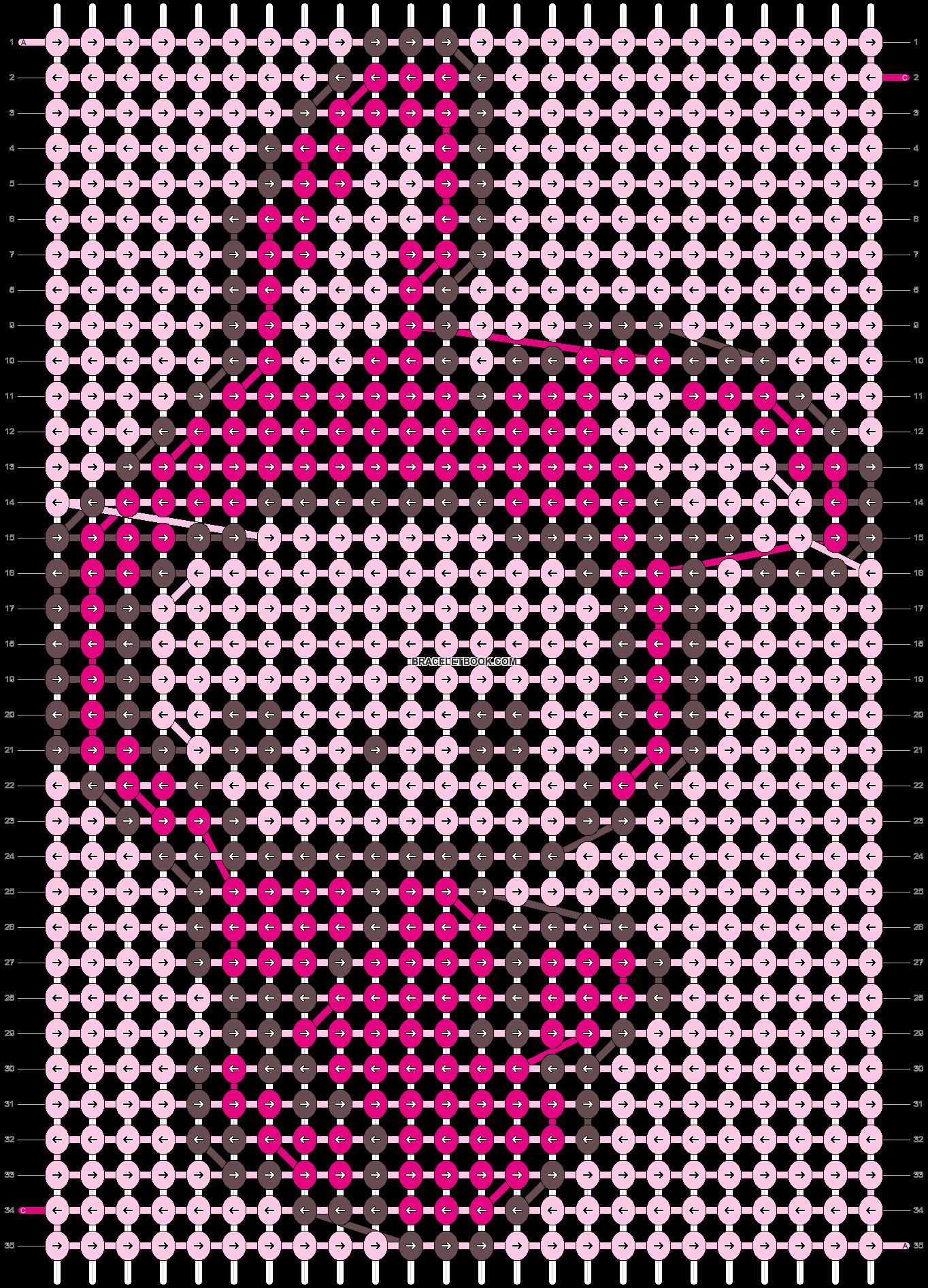 Alpha pattern #5267 pattern