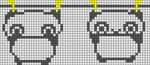 Alpha Friendship Bracelet Pattern #5268