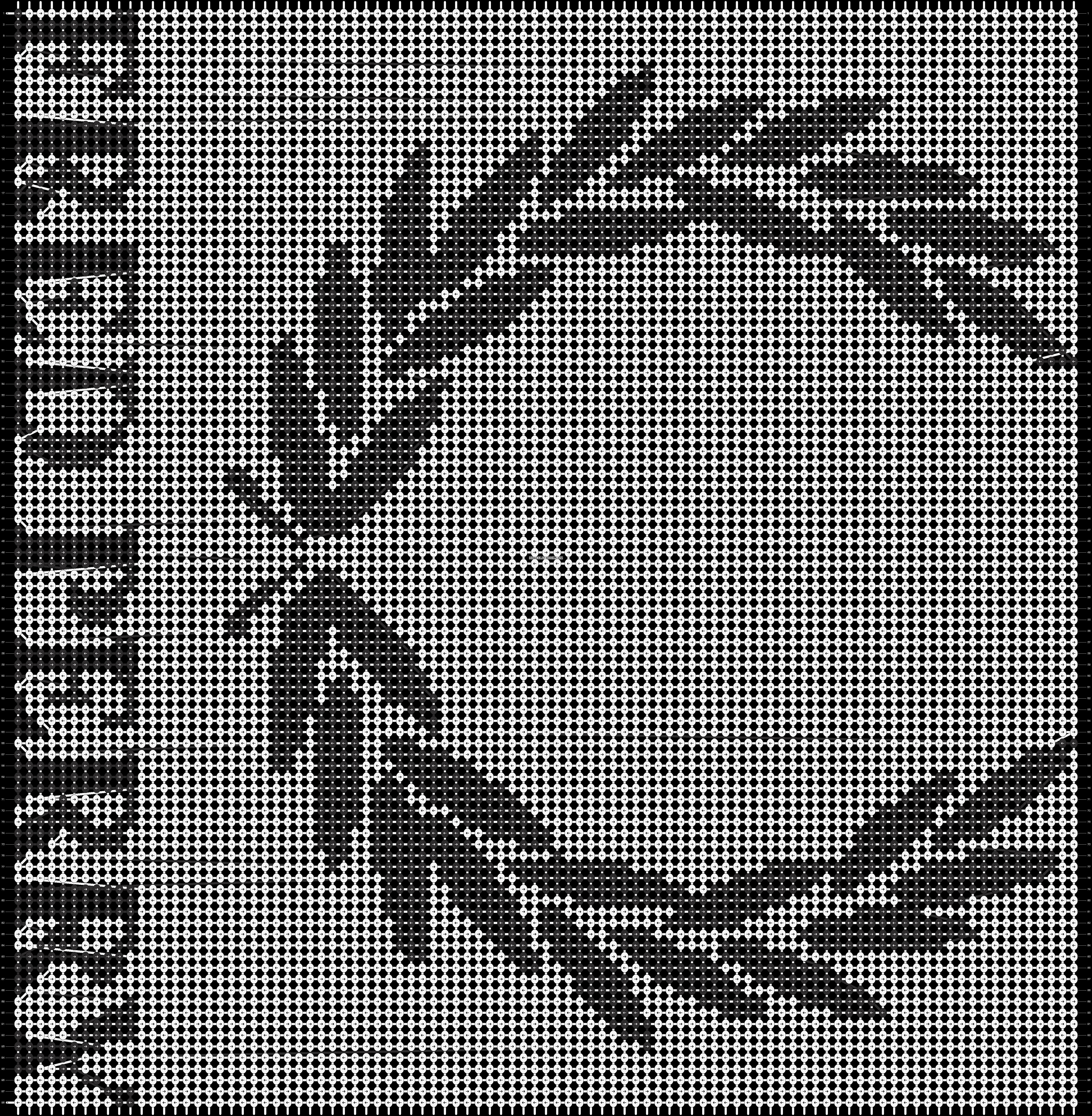 Alpha pattern #5284 pattern