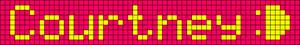Alpha pattern #5285