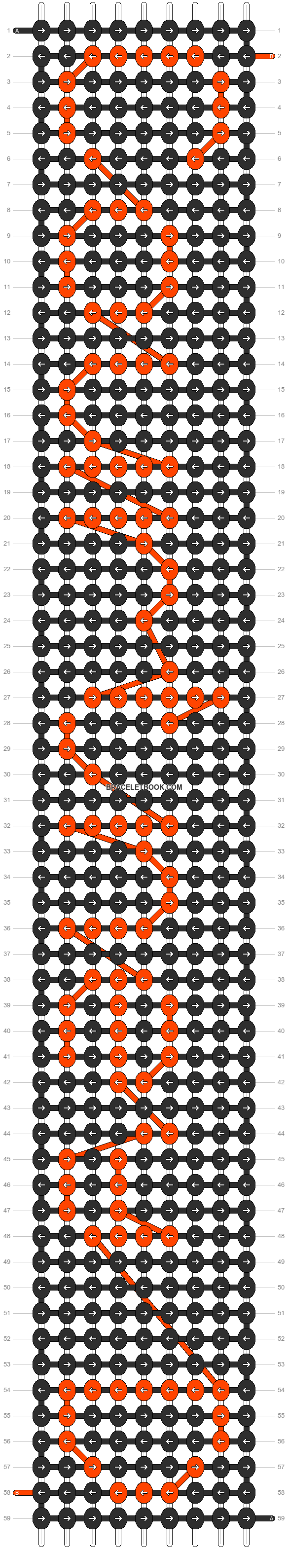 Alpha pattern #5287 pattern