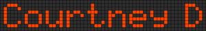 Alpha pattern #5287