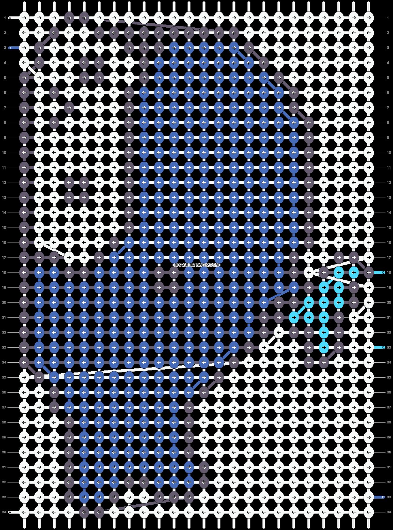 Alpha pattern #5289 pattern