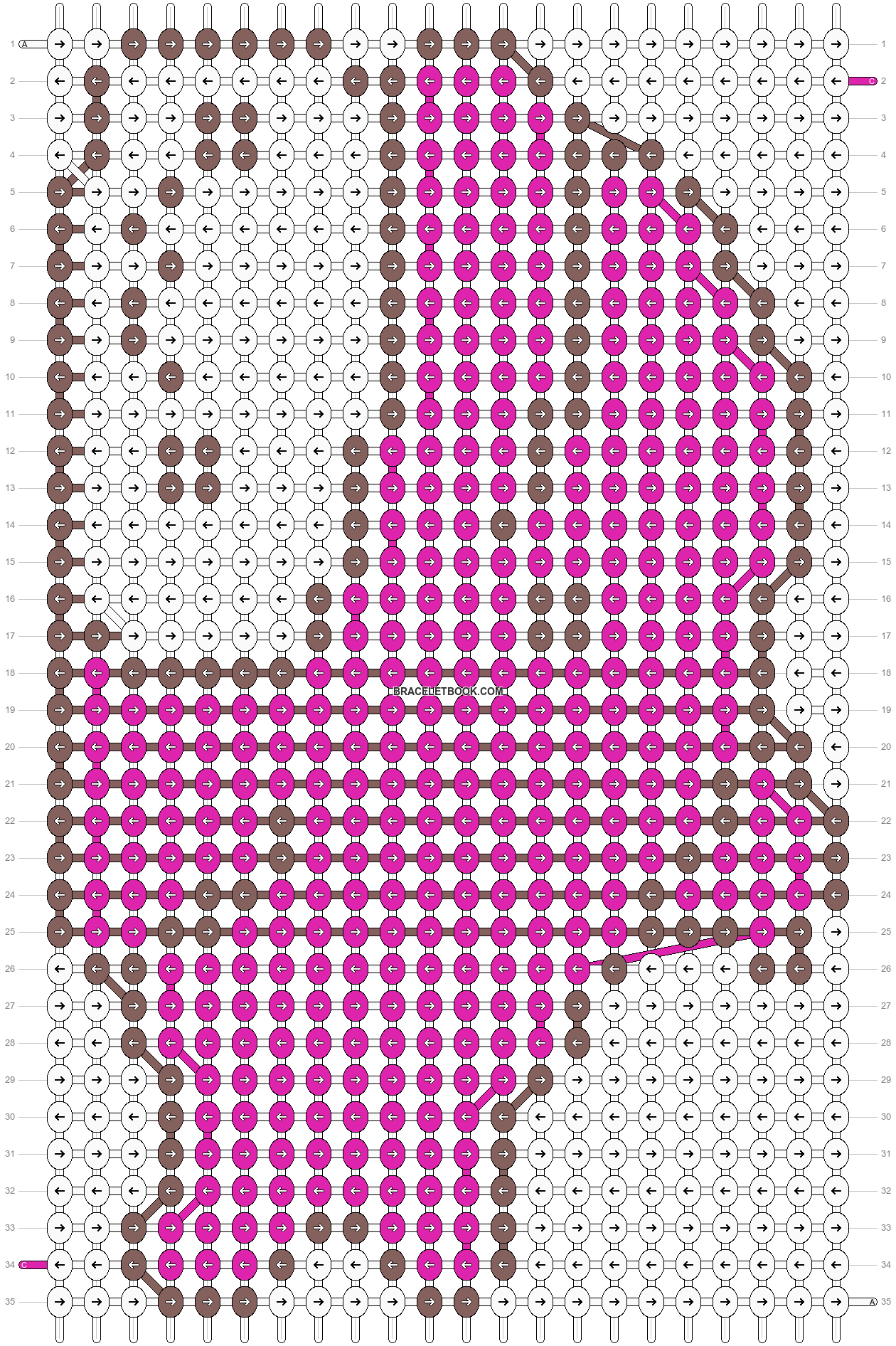 Alpha pattern #5292 pattern