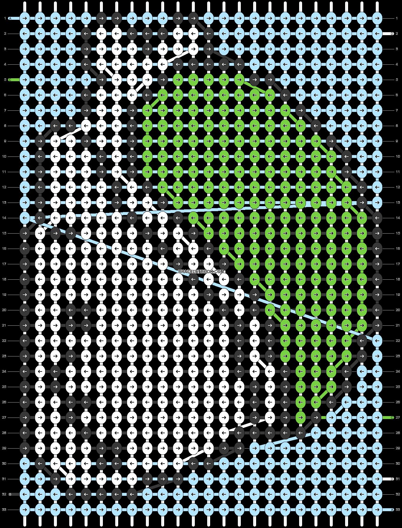 Alpha pattern #5301 pattern