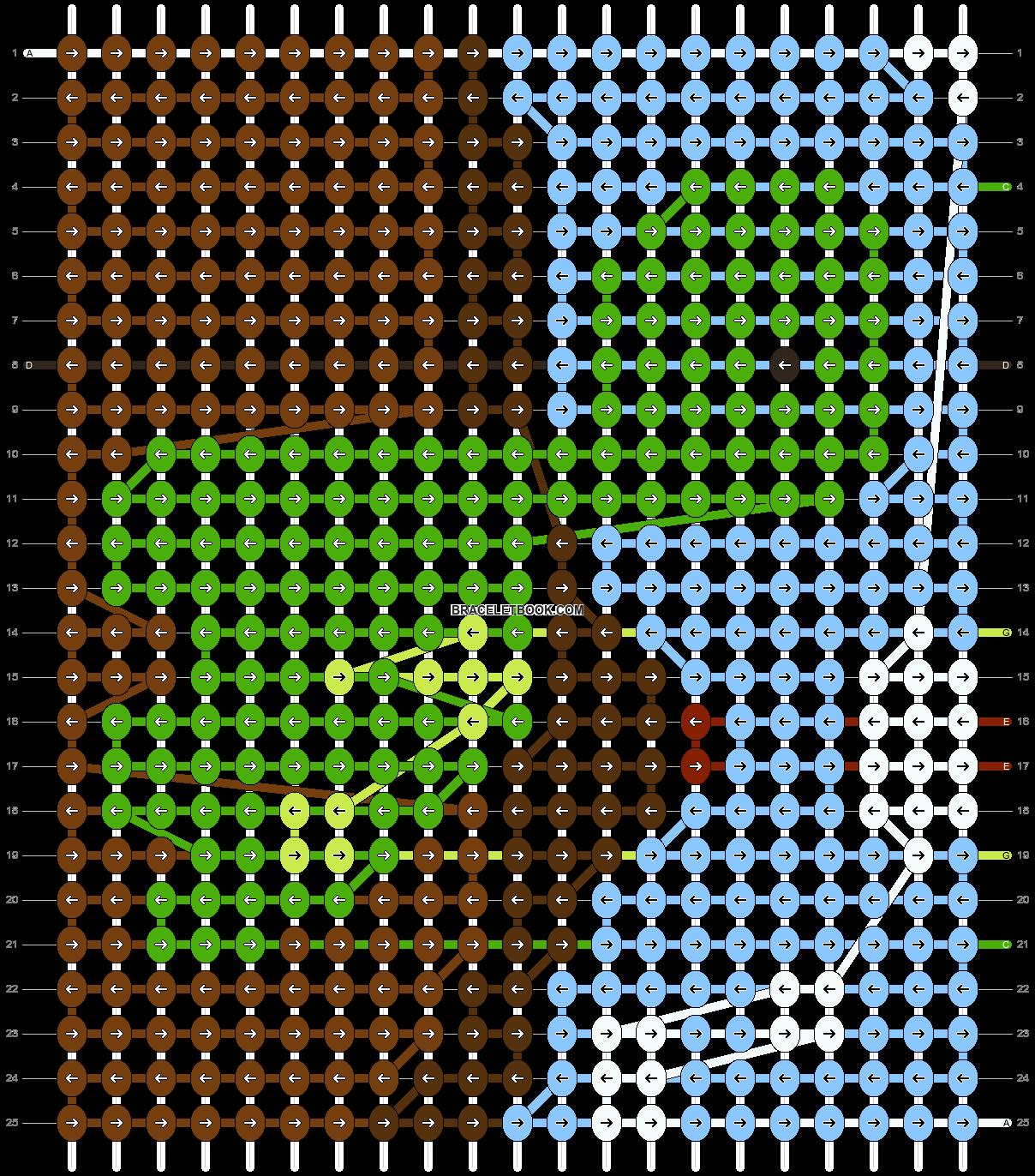 Alpha pattern #5306 pattern