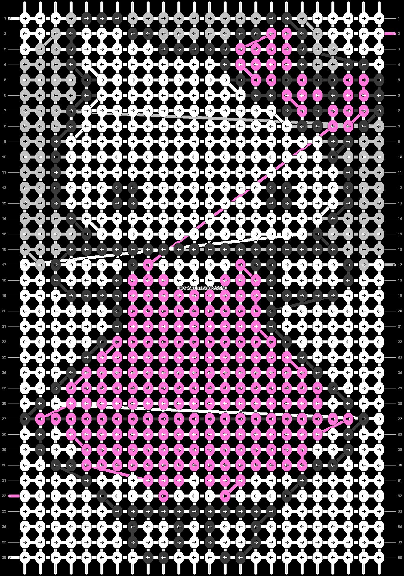 Alpha pattern #5352 pattern