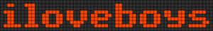 Alpha pattern #5355