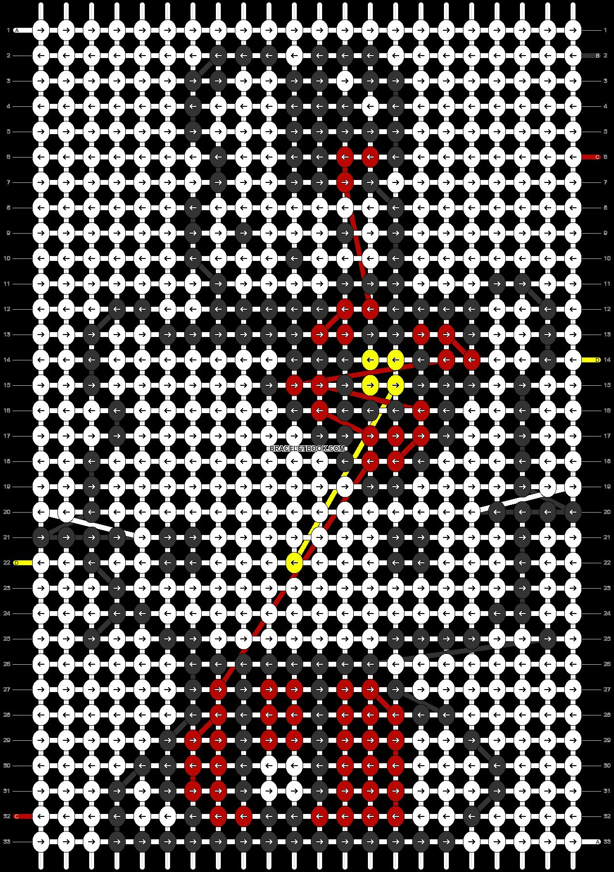 Alpha pattern #5366 pattern