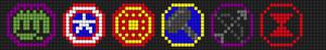 Alpha Friendship Bracelet Pattern #5373