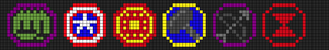 Alpha pattern #5373