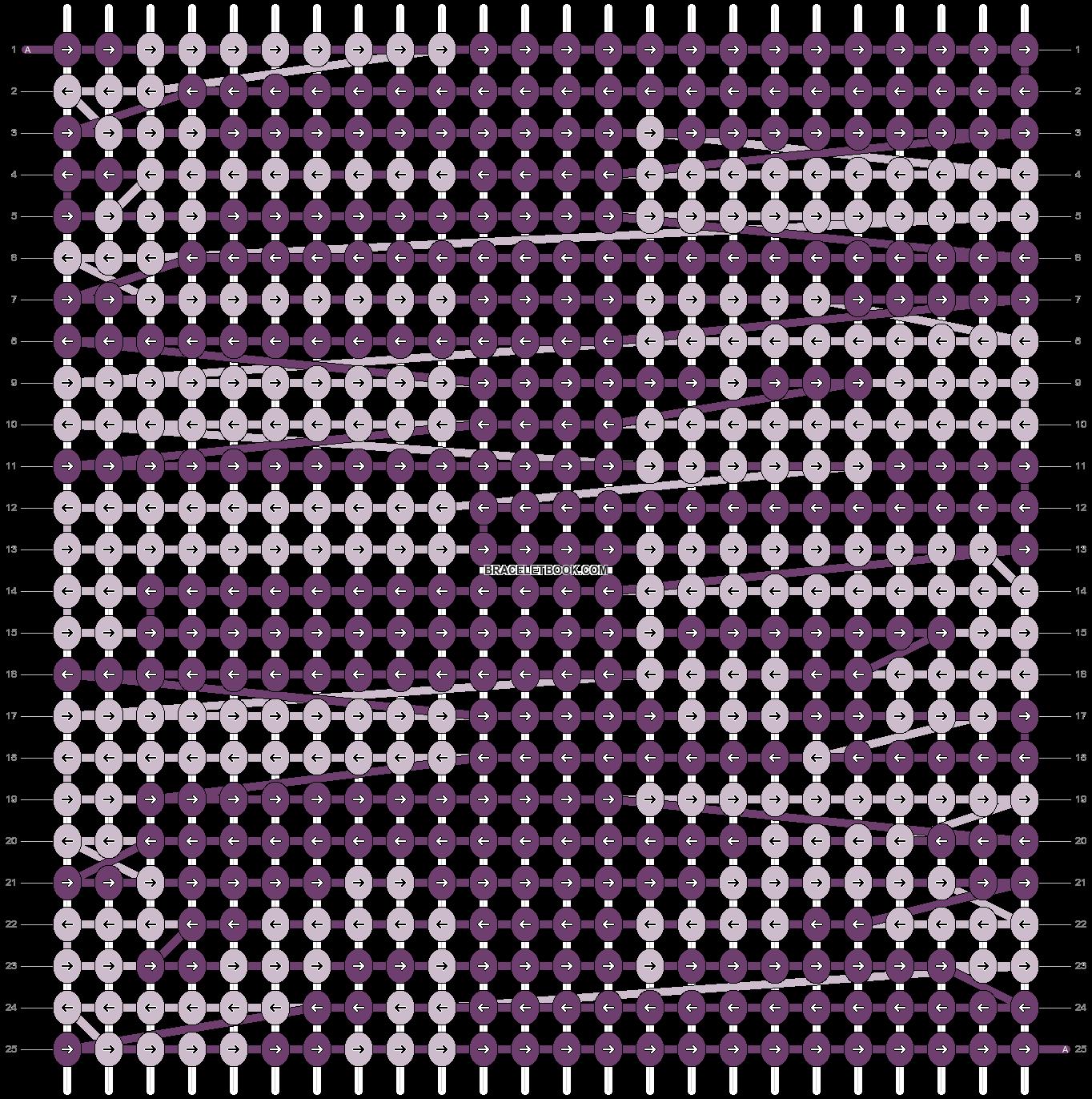 Alpha pattern #5380 pattern