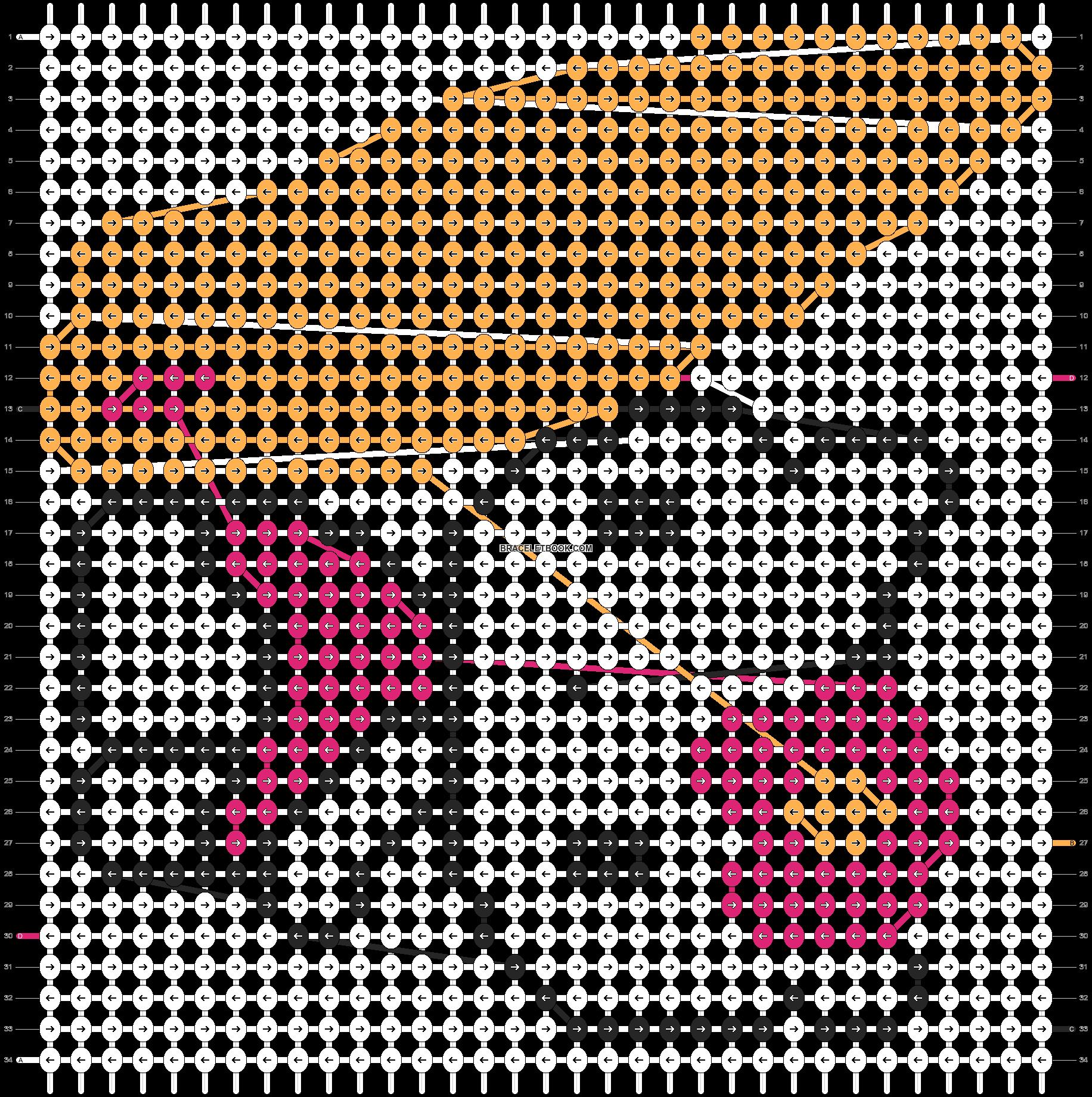 Alpha pattern #5390 pattern