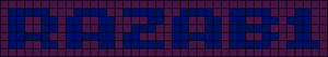 Alpha pattern #5394