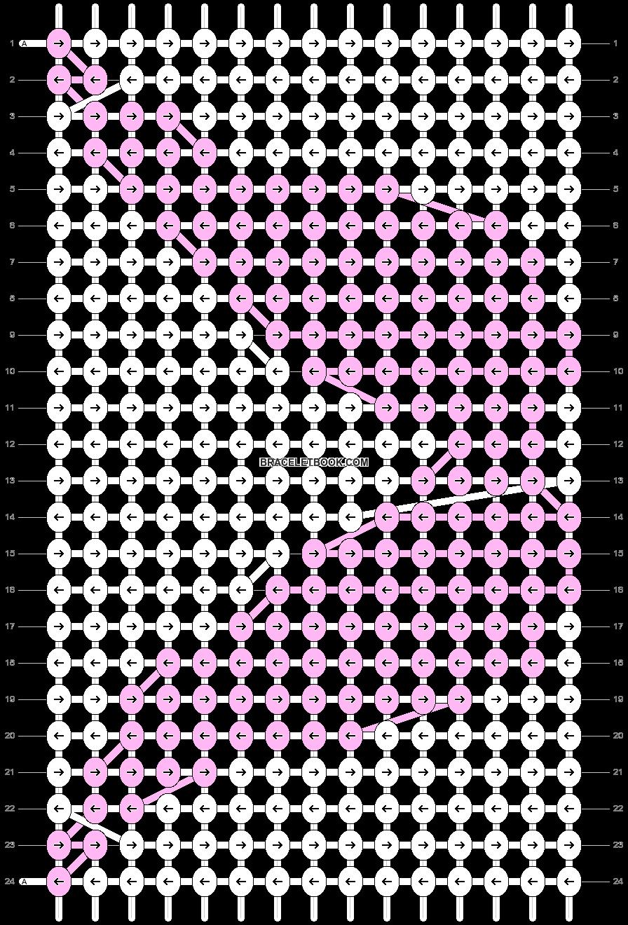 Alpha pattern #5399 pattern