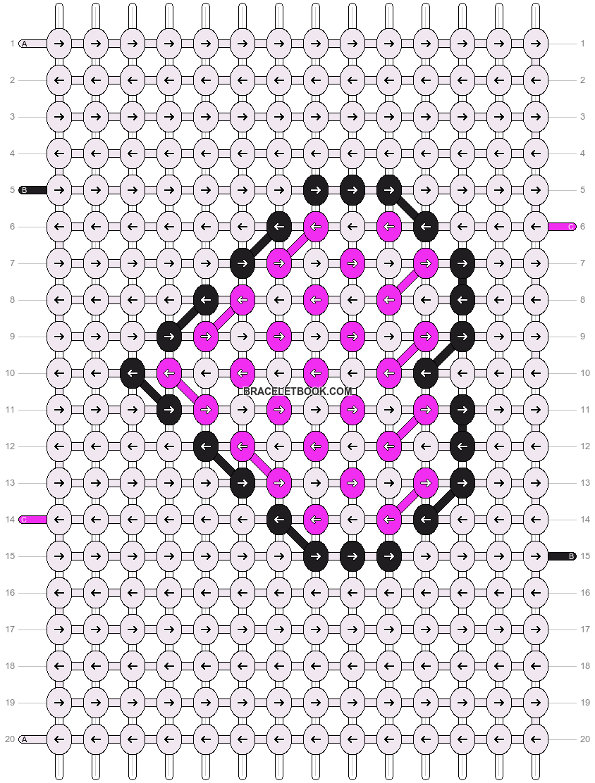 Alpha pattern #5408 pattern