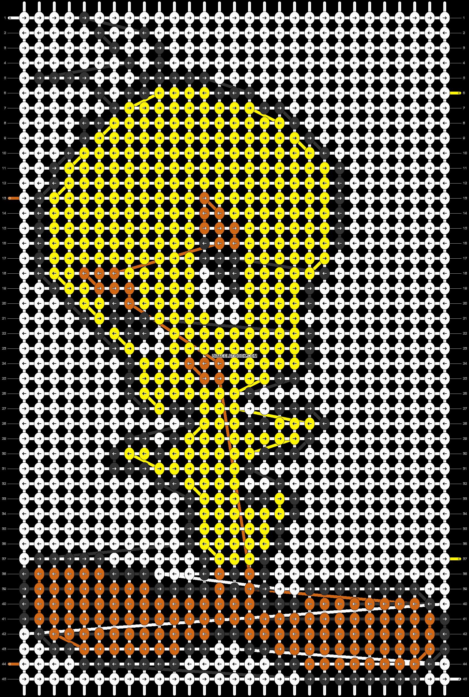 Alpha pattern #5410 pattern