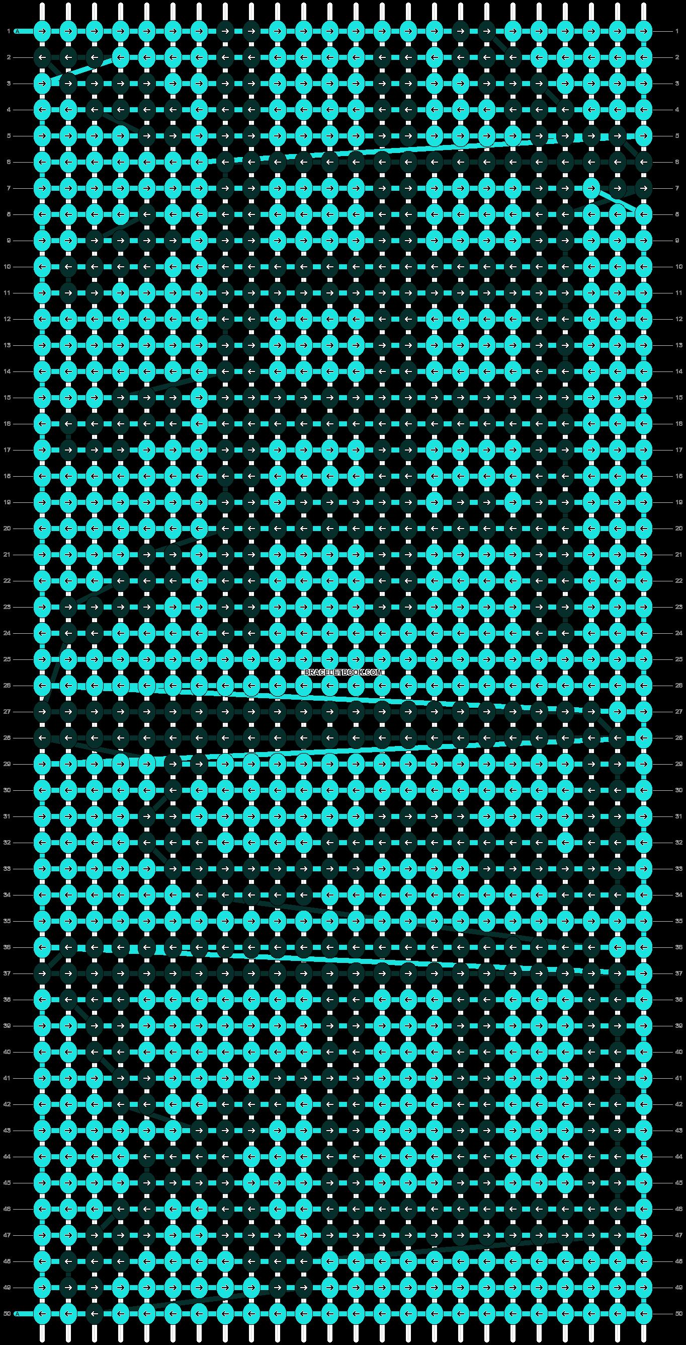 Alpha pattern #5414 pattern