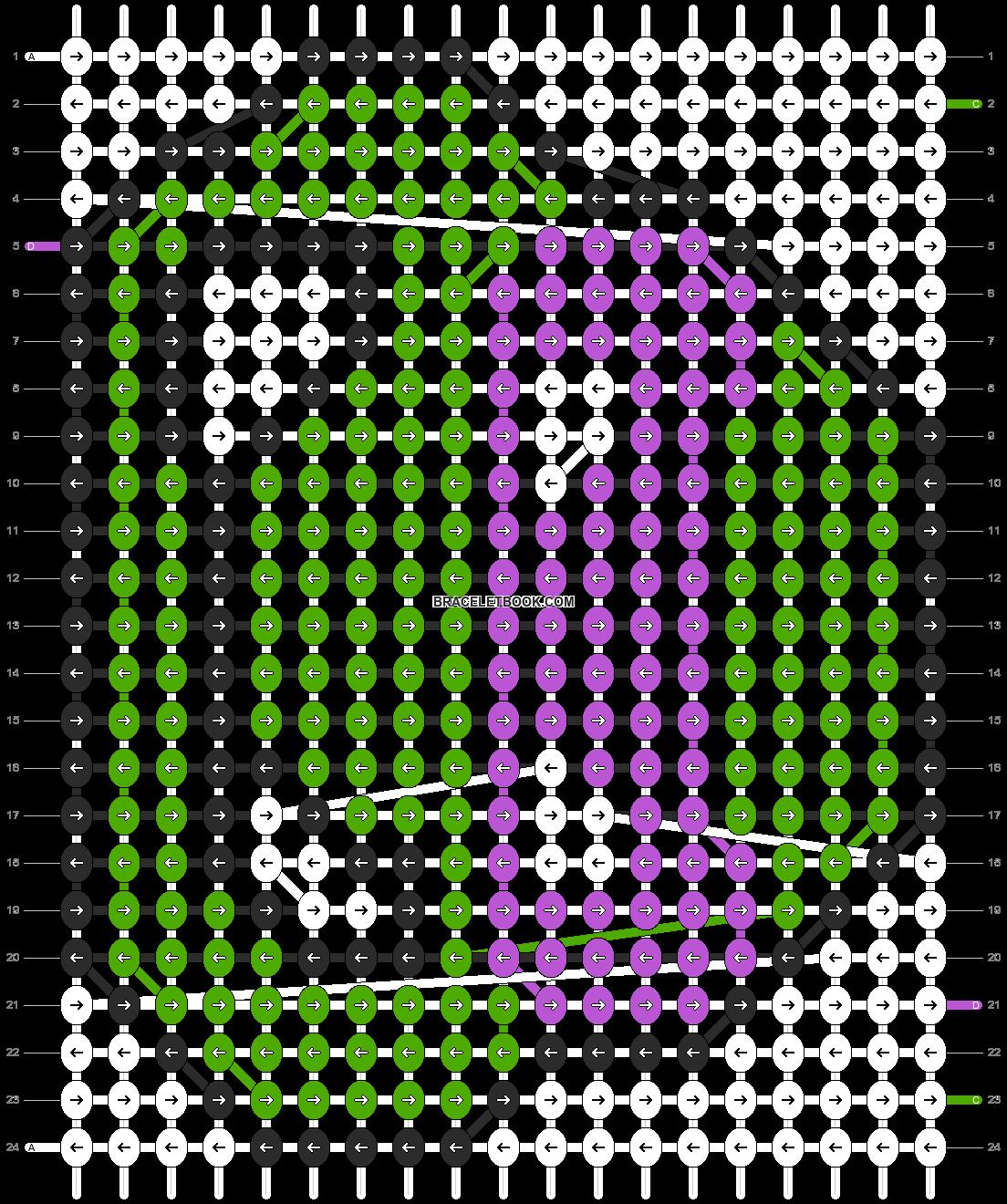 Alpha pattern #5415 pattern