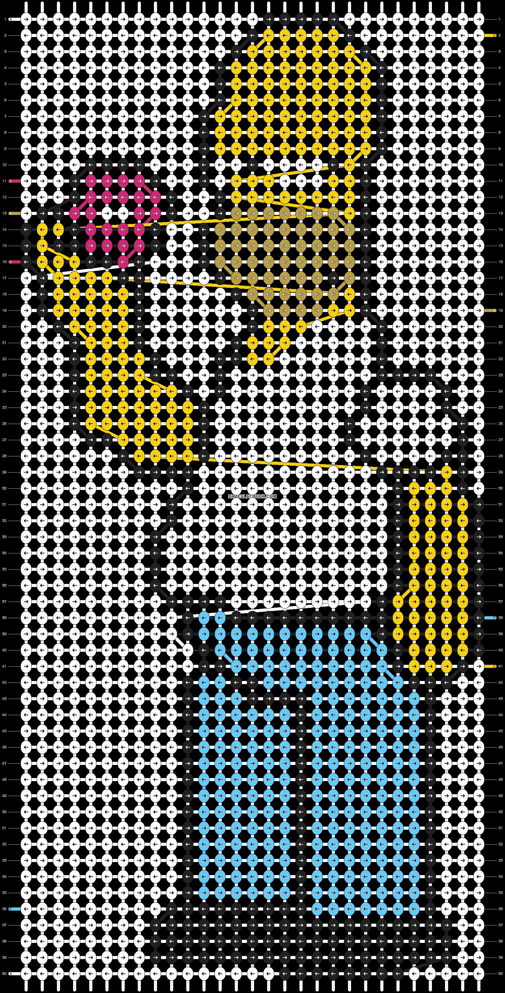 Alpha pattern #5417 pattern