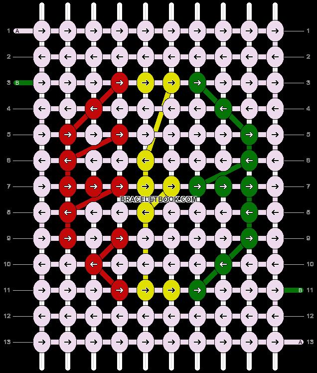 Alpha pattern #5422 pattern