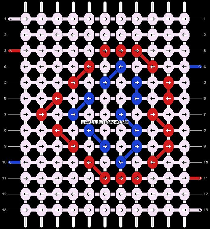 Alpha pattern #5424 pattern