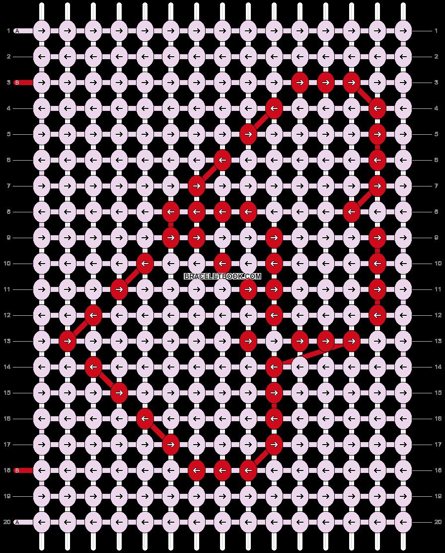Alpha pattern #5425 pattern