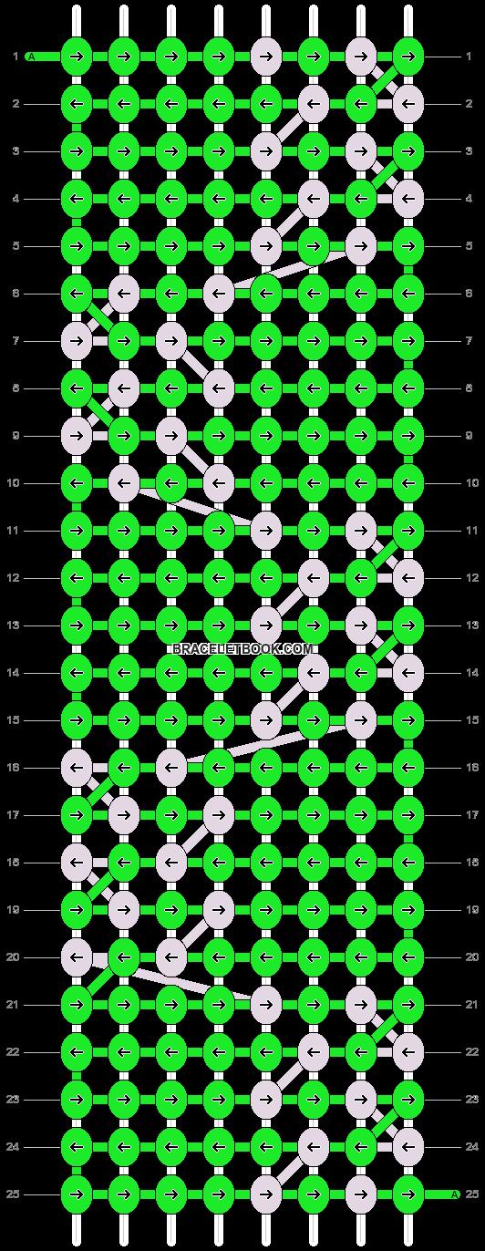 Alpha pattern #5426 pattern
