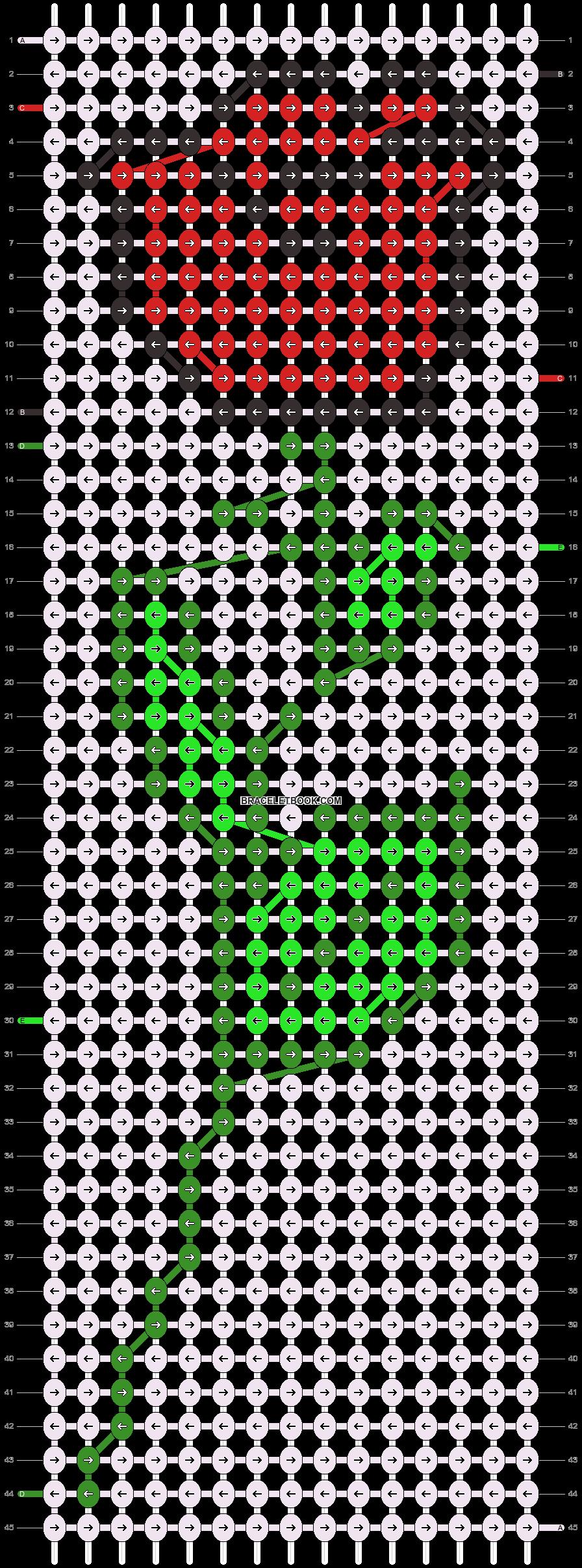 Alpha pattern #5430 pattern