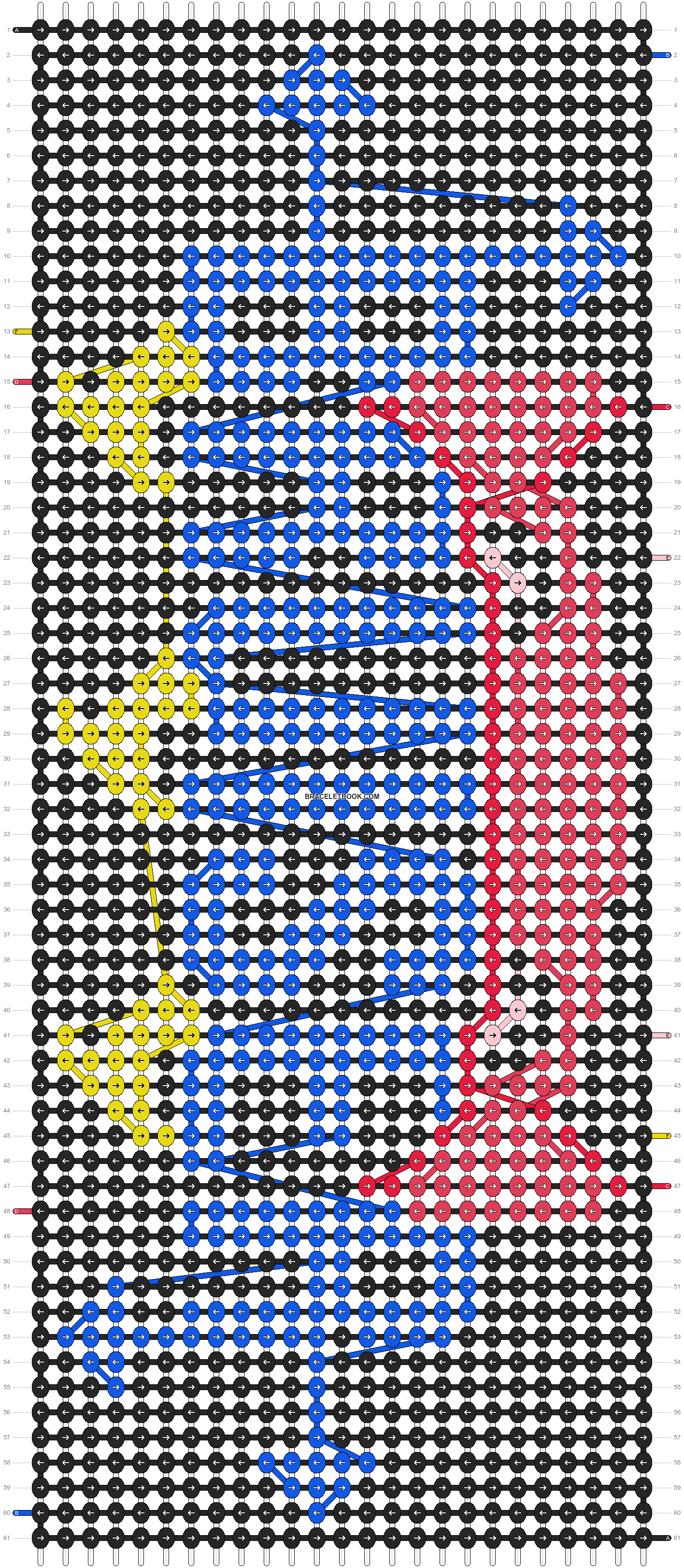 Alpha pattern #5437 pattern