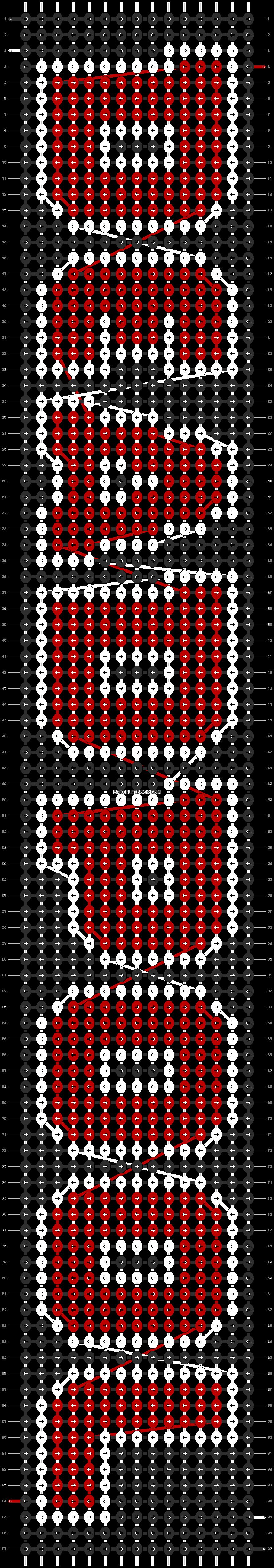 Alpha pattern #5438 pattern