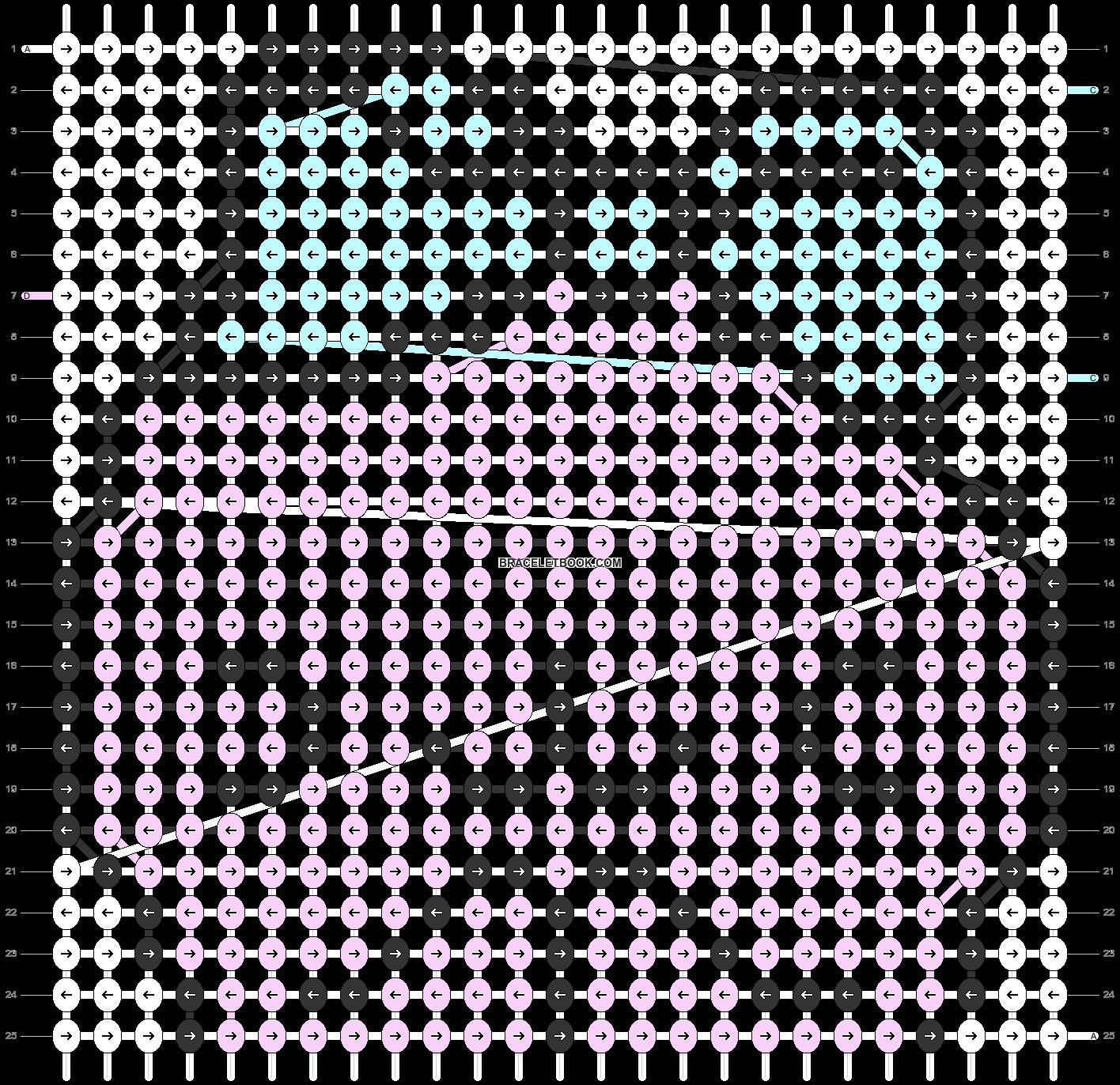 Alpha pattern #5443 pattern