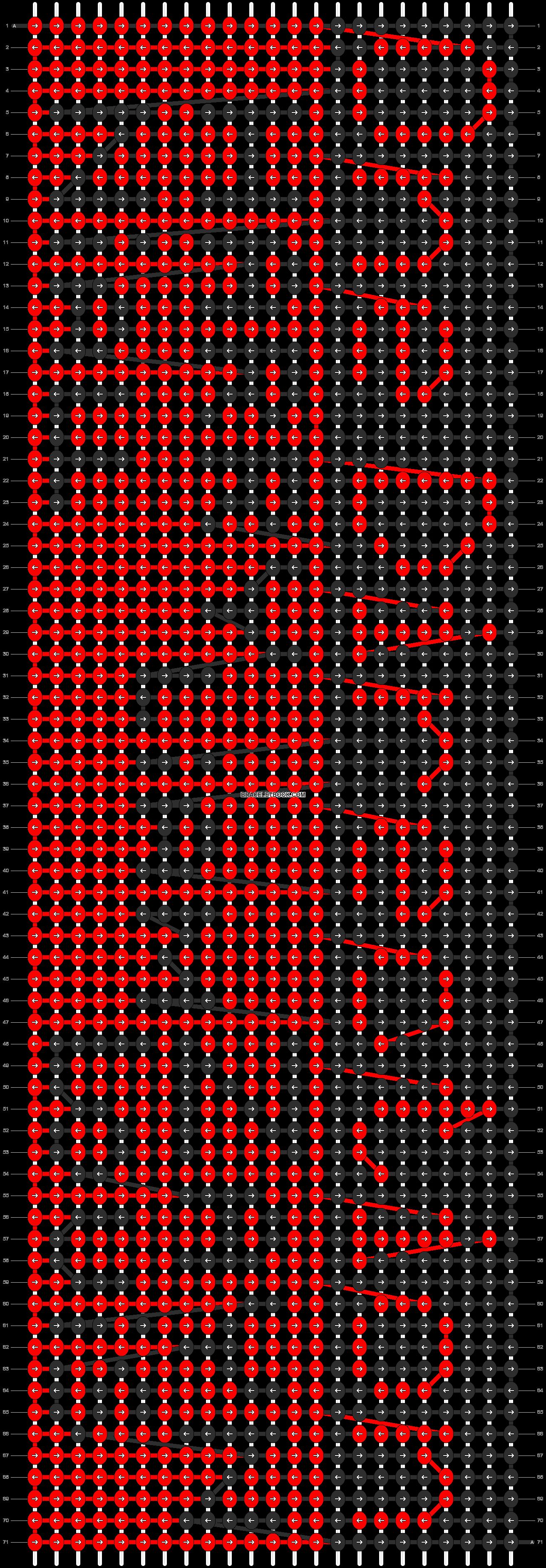 Alpha pattern #5448 pattern