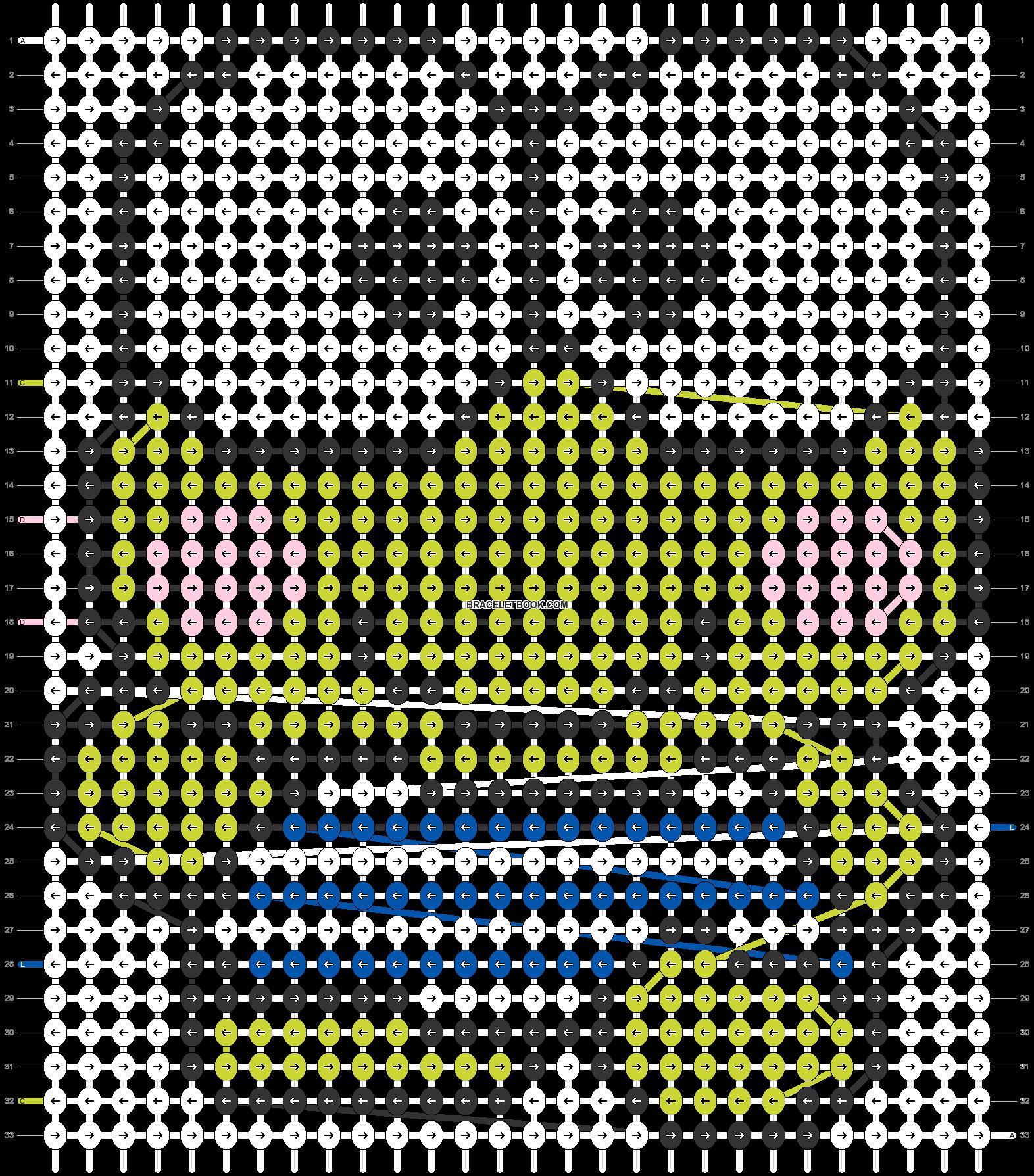 Alpha pattern #5458 pattern