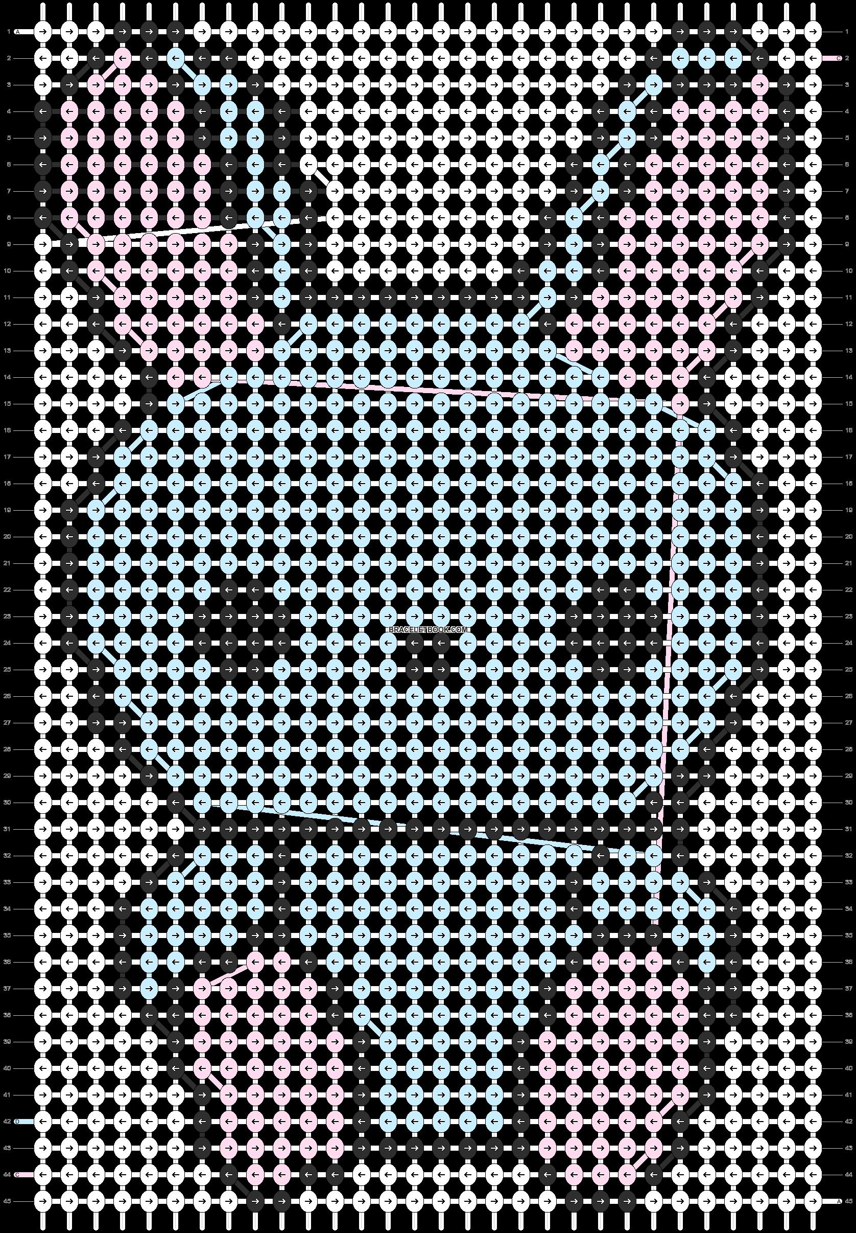 Alpha pattern #5461 pattern