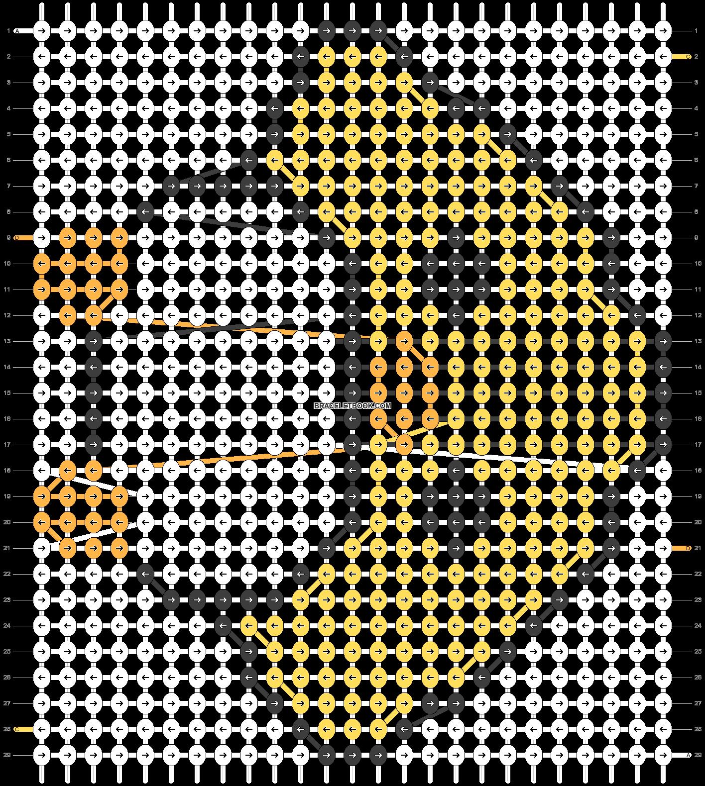 Alpha pattern #5464 pattern