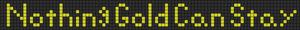 Alpha pattern #5465
