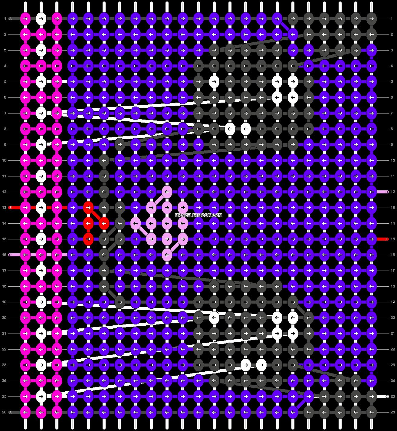 Alpha pattern #5466 pattern