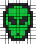 Alpha Friendship Bracelet Pattern #5471