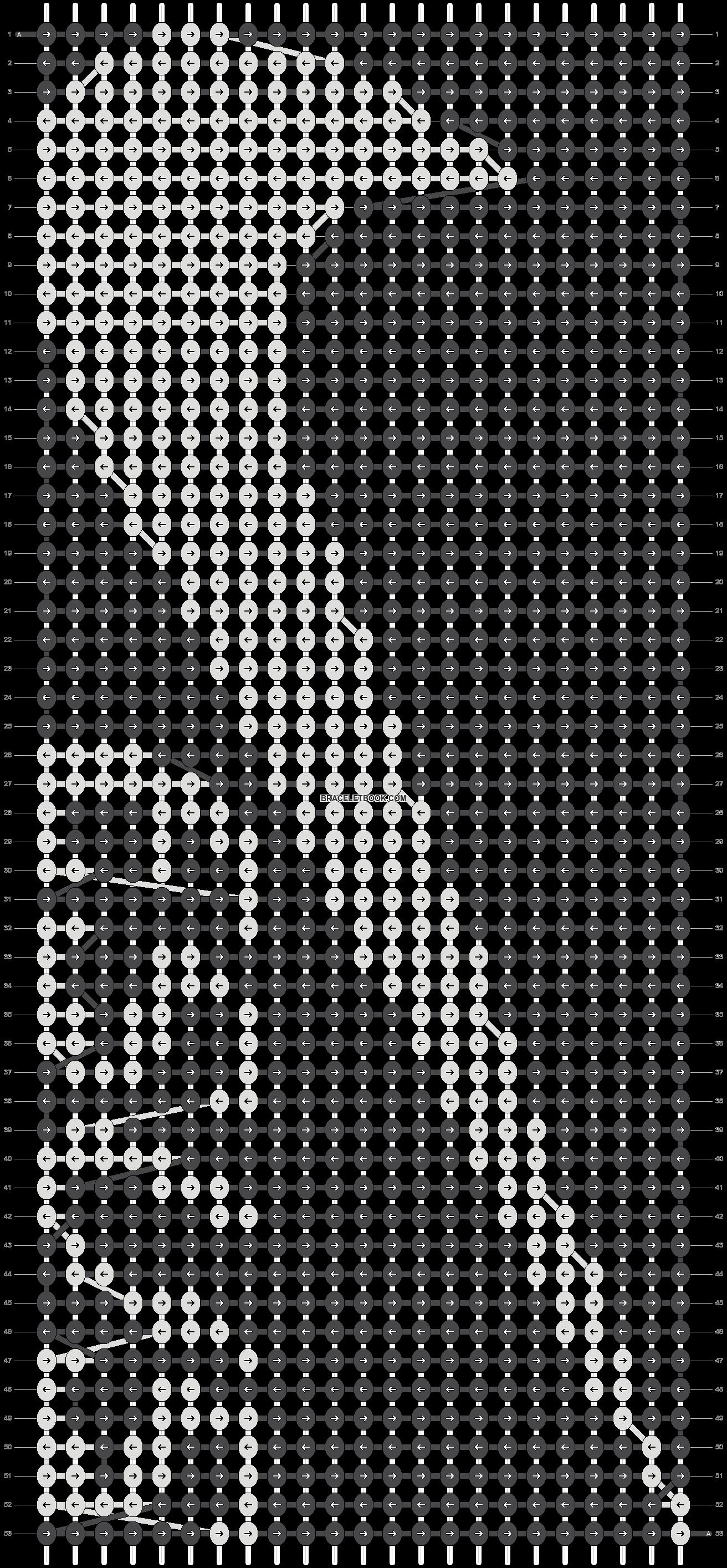 Alpha pattern #5474 pattern